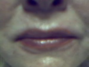 lips correction with permanent make up